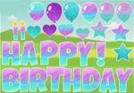Happy Birthday Fairy Lights