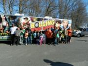 rolling video games party kids with mobile game trailer