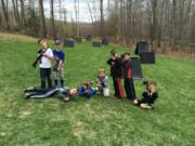 mobile laser tag party