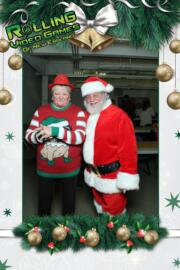 holiday magic photo booth