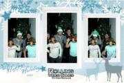 christmas magic photo booth family