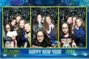 new year 2017 magic photo booth