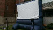 inflatable outdoor tv