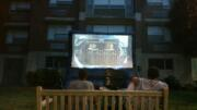 outdoor tv party