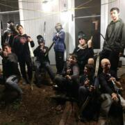 archery tag teen party