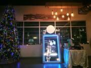 christmas magic mirror photo booth