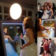 magic mirror wedding party