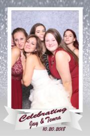 bridesmaids magic mirror photo booth