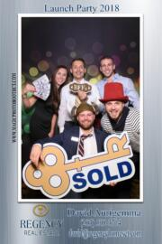 company party photo booth