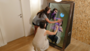 multi touch magic mirror photo booth